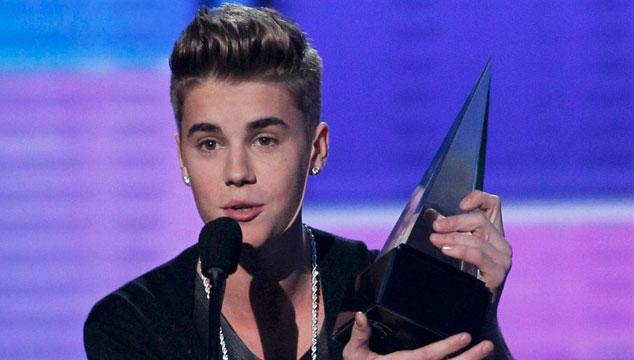 imagen Justin Bieber es el máximo ganador en los American Music Awards