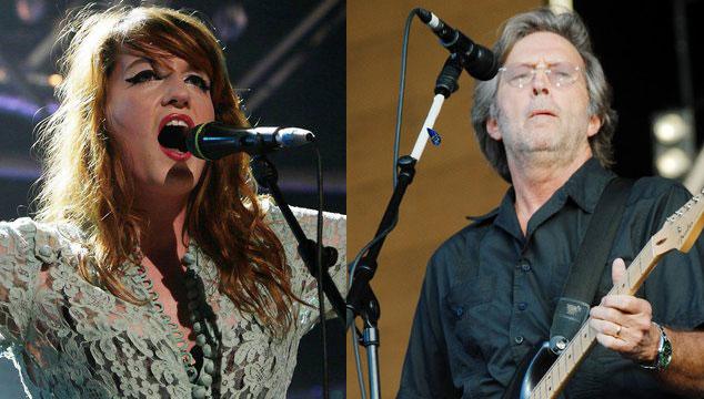 imagen Florence Welch y Clapton acompañarán a los Stones en su segundo concierto