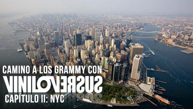 imagen Camino a los Grammy con Viniloversus. Capítulo II: NYC