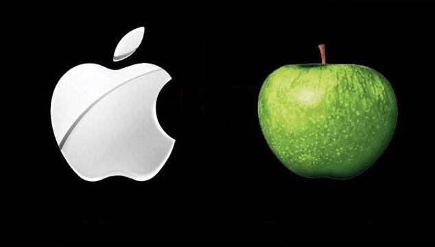imagen Apple ahora es dueño del icónico logo de manzana de los Beatles