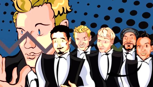 imagen ¡Los Backstreet Boys se convierten en una comiquita navideña!