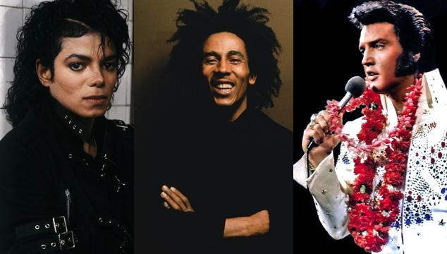 imagen Michael Jackson, Elvis Presley y Bob Marley: Los artistas fallecidos que más ganaron en 2012