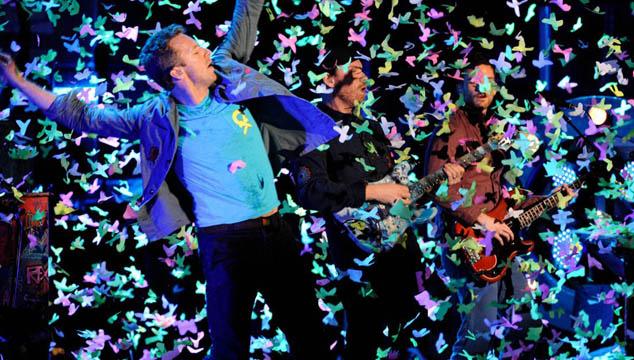 imagen Coldplay estrena hoy en cines el DVD de su gira Mylo Xyloto