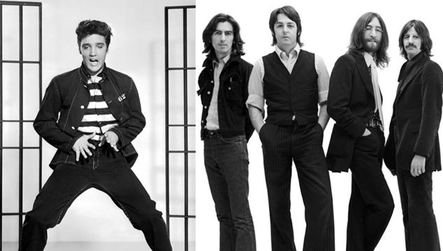 imagen Entérate de lo que los Beatles opinaban sobre Elvis Presley