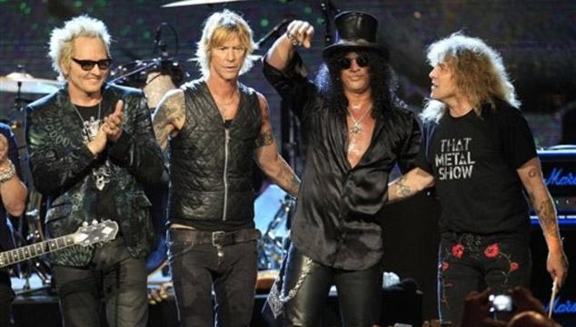 imagen Casino de Las Vegas retira material promocional de Guns n' Roses por controversial