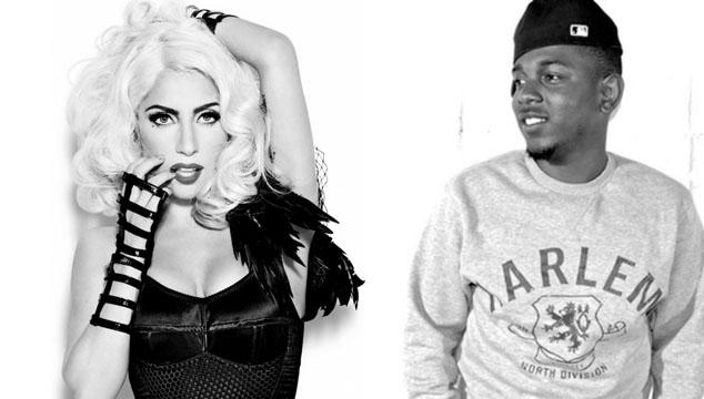 imagen Lady Gaga publica su colaboración con Kendrick Lamar