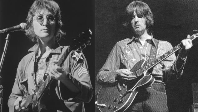 imagen Subastarán carta de John Lennon a Eric Clapton