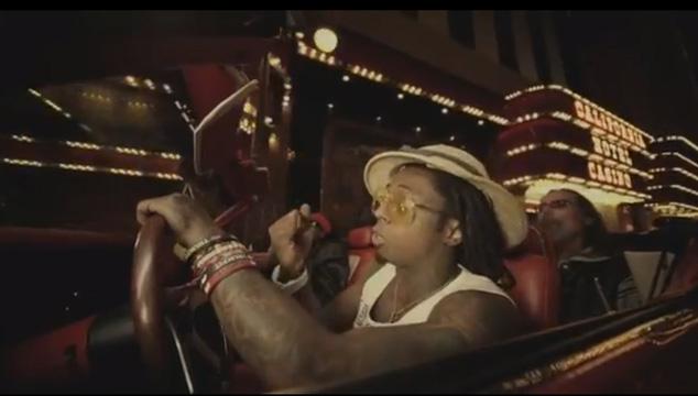 imagen Lil Wayne va drogado a Las Vegas en su nuevo video