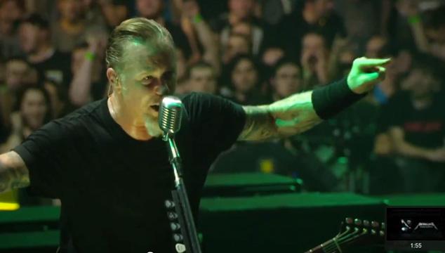 imagen Metallica publica el tráiler de su nuevo DVD
