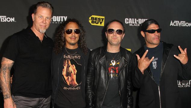 imagen Metallica lanzó su propio sello disquero