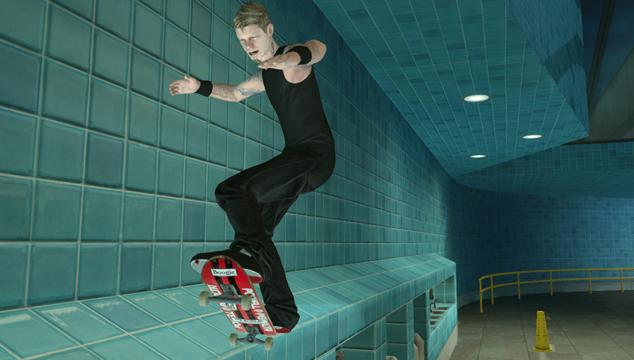 imagen Patina como James Hetfield en el videojuego de Tony Hawk