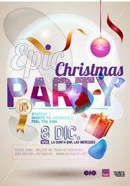 """HoyQuéHay / RevistaOJO presentan: """"Epic Christmas Party"""""""