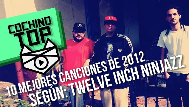 imagen Cochino Top: Las 10 mejores canciones de 2012 según 12″ Ninjazz