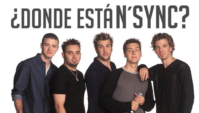 imagen INFOGRAFÍA: ¿Dónde está N'Sync?