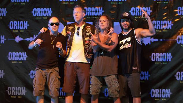 imagen Metallica encabezará la segunda edición del Orion Music + More