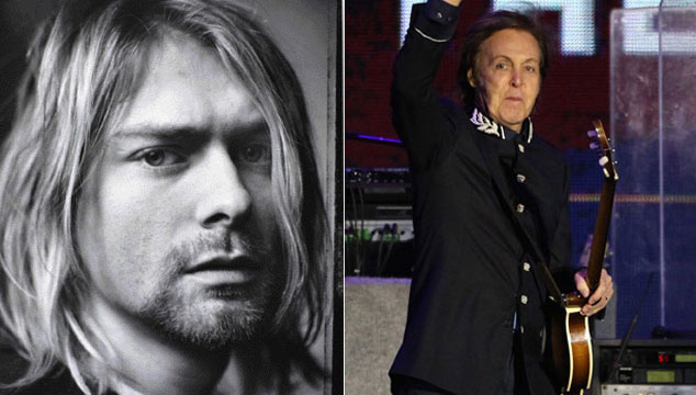 imagen Paul McCartney será Kurt Cobain por esta noche