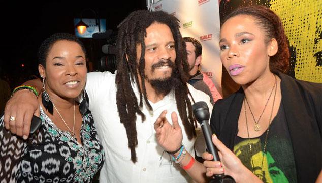 imagen Viuda y hermanastro logran un acuerdo sobre el uso del nombre de Bob Marley