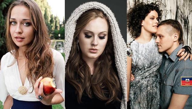 imagen Arcade Fire, Fiona Apple y Adele entre los pre-nominados al Óscar 2013