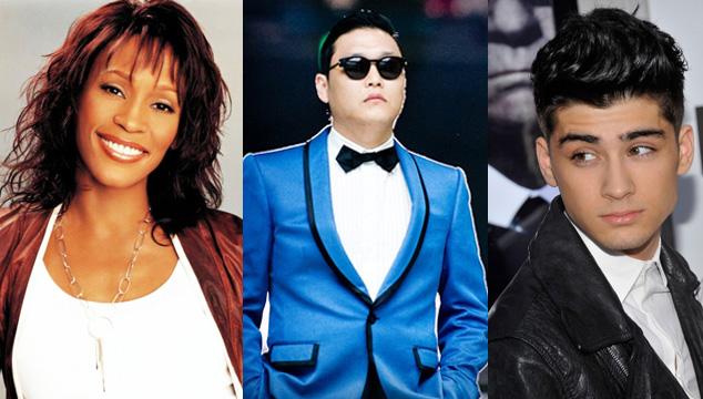 imagen Whitney Houston, Gangnam Style y One Direction fueron los más googleados en 2012