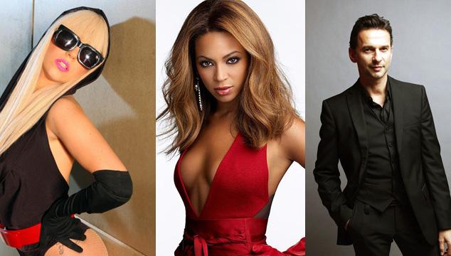 imagen Más rock y divas en 2013 con Depeche Mode, Arcade Fire, Beyoncé y Lady Gaga
