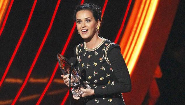 imagen Katy Perry fue la cantante más galardonada de los People's Choice Awards