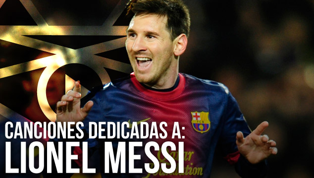 imagen ESPECIAL: Canciones dedicadas a Lionel Messi