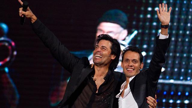 imagen Chayanne y Marc Anthony actuarán en el Zócalo mexicano en concierto gratuito