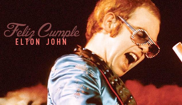 imagen En su cumpleaños: los mejores toques en vivo de Elton John