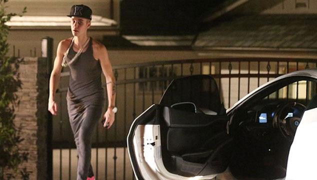 imagen Justin Bieber atropelló a un paparazzi