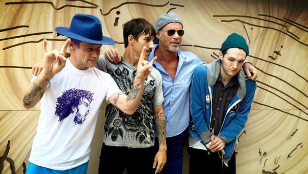 imagen Seis nuevos temas de Red Hot Chili Peppers