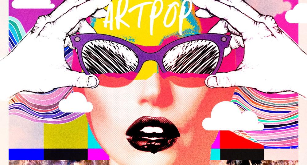 imagen Lady Gaga se desnuda para la imagen promocional de ARTPOP
