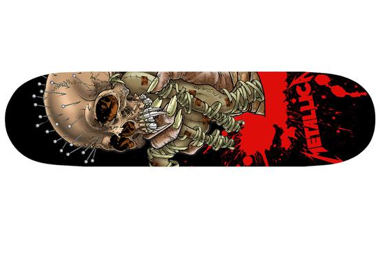 MetallicaSkateDeckPR290212