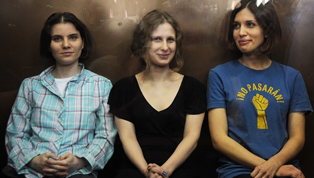 imagen Adele, Paul McCarney y Animal apoyan la liberación de las Pussy Riot