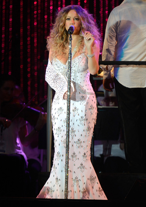 MLB All Star Charity Concert Starring The New York Philharmonic With Special Guest Mariah Carey Benefiting Sandy Relief