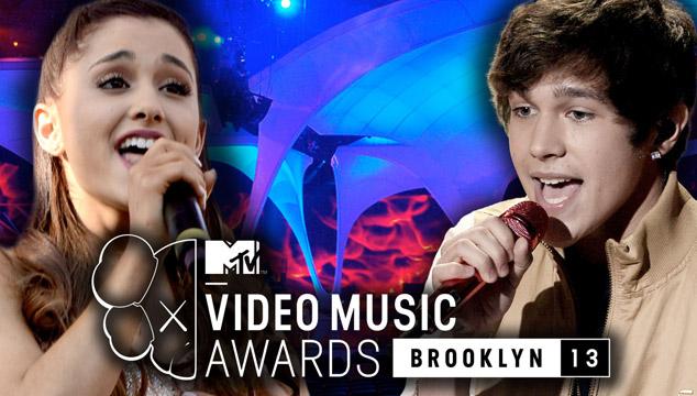 imagen Ariana Grande y Austin Mahone abren los VMA's 2013 (VIDEOS)