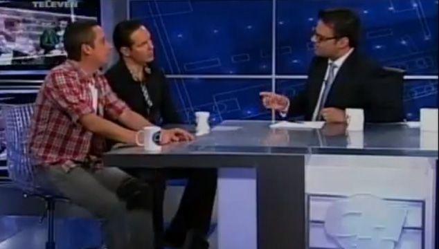 imagen Luis Chataing y Roque Valero se lanzan puntas en TV nacional (VIDEO)