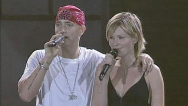 """imagen Eminem y Dido se unen para volver a cantar """"Stan"""" en vivo (VIDEO)"""