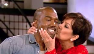 Kanye con la suegra
