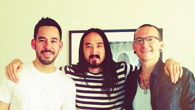 imagen Linkin Park muestran un adelanto de su nuevo tema junto a Steve Aoki que estrenarán en su videojuego