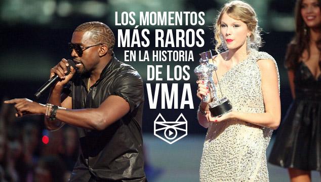 imagen CochinoTop: Los momentos más raros en la historia de los VMA