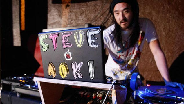 imagen Steve Aoki usa softwares piratas para hacer música (FOTO)