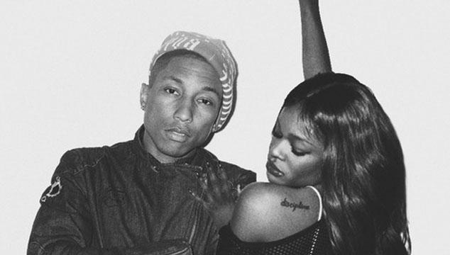 "imagen Azaelia Banks estrena lyric video de ""ATM Jam"", nuevo tema junto a Pharrell Williams"