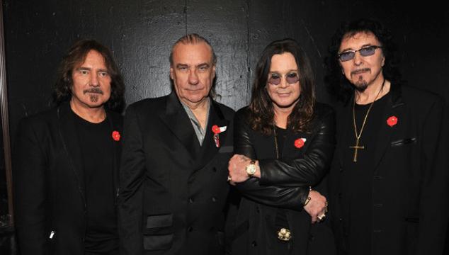 imagen Ozzy Osbourne dice que Bill Ward está muy gordo para girar con Black Sabbath