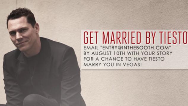imagen Tiësto puede casarte en Las Vegas