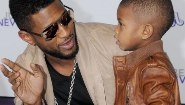 imagen Usher es acusado de irresponsable por su ex luego de que su hijo casi se ahoga bajo su supervisión