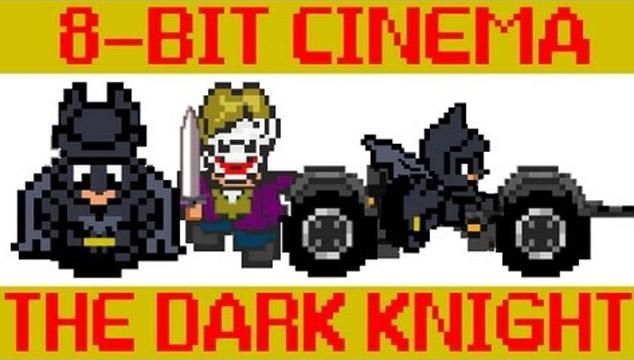 imagen 'Batman: El Caballero de la Noche' es convertida en un videojuego 8-bit (VIDEO)