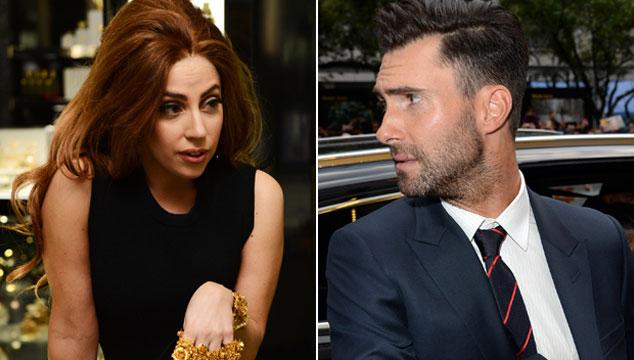 imagen ¿Adam Levine y Lady Gaga se lanzan puntas por Twitter? Parece que sí