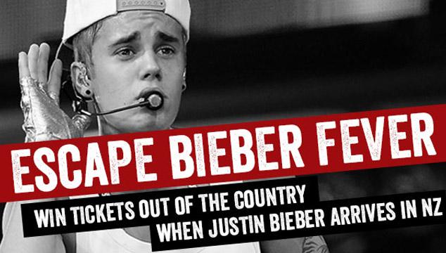 imagen En Nueva Zelanda puedes ganar boletos de avión para escapar de Justin Bieber (VIDEO)