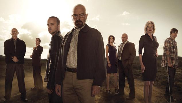 imagen Los tuits de las estrellas de 'Breaking Bad' a horas del final de la serie