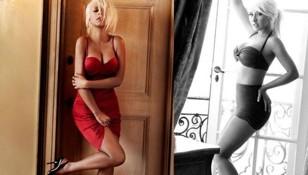 imagen Todas las sexys fotos de Christina Aguilera para la revista Maxim